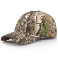 Wholesale jungle camouflage hats for sale - Group buy New Men s Fashion Summer Hat Baseball Cap Fishing Caps Men Outdoor Hunting Camouflage Jungle Hat