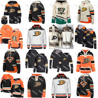 ea40359c189 Wholesale anaheim ducks hoodie online - Mens Women Youth Custom Mighty Ducks  Pullover ANAHEIM DUCKS Vintage