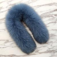 ingrosso 55 borsa-55 centimetri borsa di ricambio cinturino vera pelliccia di volpe reale borsa dovrebbe cinghie maniglia per le cinture da donna borse fascino inverno accessori R25