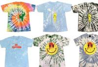 estrelas t shirts venda por atacado-Playboi Carti Die Lit Tour T-shirts Dos Homens Tie-tingidos Travis Scott 1 camisetas Verão Moda Astroworld Tour Vegas Camisa DOVER Estrela Tee