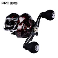 Wholesale fishing body baits resale online - PRO BEROS DW121 Metal Fishing Reel Aluminum Alloy Ball Bearings SpoolLight weight body easy to cast farther