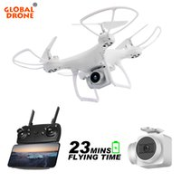 Wholesale syma x5c wifi camera for sale - Group buy Global Drone Long Time Fly Dron With Camera Headless Mode Remote Control Quadcopter Wifi Fpv High Hold Quadrocopter Vs Syma X5c T190621