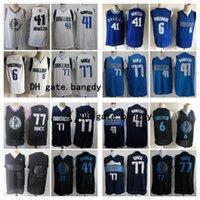Wholesale dirk nowitzki jerseys for sale - Group buy 2020 Mens Dallas Mavericks Dirk Nowitzki Luka Doncic Kristaps Porzingis Vintage Jason Kidd Stitched Basketball Jerseys