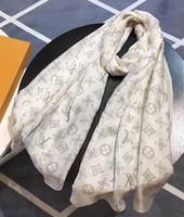 damen seide weihnachten schals groihandel-2020 Marken Seidenschal Mode Dame Seidenschals weichen Schal druckt Pashmina Foulard femme lange Größe Bandana Schal Weihnachtsgeschenke S433