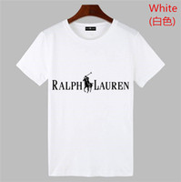 camisas de polo diseñadas al por mayor-Estilo clásico POLO Ralph diseño POLO camisa de algodón doble hebilla moda casual moda vanguardista hombre POLO camisa de los hombres