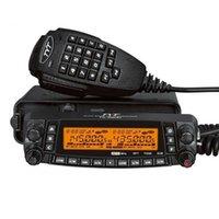 rádios móveis venda por atacado-Rádio do quadrilátero do transceptor do carro do presunto de TH-9800 rádio móvel de 29/50/144/430 megahertz FM 50W