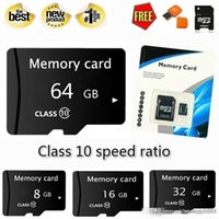 Wholesale microsd card adapter reader resale online - Design Real capacity GB GB GB GB GB GB High Speed MicroSD SD TF Card Class10 Flash Memory SD Card Reader Adapter Reader