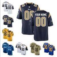a6bba963a Aaron Donald jersey Rams Todd Gurley II Jared Goff Los Angeles camo  saudação ao serviço personalizado camisas de futebol americano barato plus  size