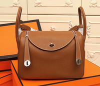 SUPERB new top women's real leather lychee leather cowhide doctor handbag shoulder bag handbag purse top craft all handmade