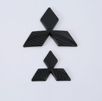 mitsubishi chrome оптовых-Бесплатная Доставка! Стайлинга автомобилей 3D ABS хром автомобилей логотип эмблема знак наклейки для Mitsubishi Eclipse крест 2018 авто наклейки аксессуары