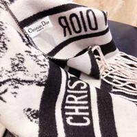 bufanda del diseñador de la borla al por mayor-La bufanda del invierno de las mujeres 2020 otoño caliente caliente de la borla de la cachemira de la manera del mantón de lujo diseñadores de las marcas del cuello turbante Pashmina 3gdior