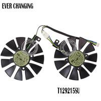asus graphics fan achat en gros de-87MM Ventilateur de refroidissement pour carte graphique Everflow T129215SU PLD09210S12HH 28mm ASUS GTX1060 1070 Ti RX 470 570 580