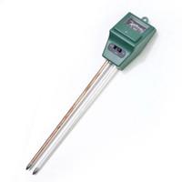 medidor de poste al por mayor-3 en 1 herramienta de medición del medidor de humedad de pH ligero para la flor de la planta de jardín Nuevo