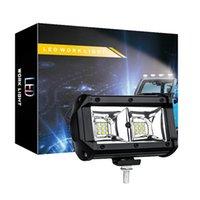 светодиодная лампа 54w оптовых-Автомобили LED Вождение автомобиля Рабочее освещение водить Бар 54W 6000K Flood Точечные Combo Свет лампы Off Road Автомобиль внедорожник Грузовик освещения