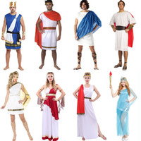 Wholesale cosplay cos for sale - Group buy Party Cosplay Costume Halloween Theme Cos Costume Ancient Greek Mythology Roman Parliament Cosplay Clothing Adult Child Samurai Costume