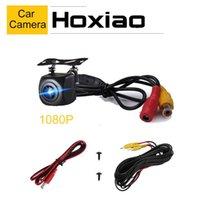 Wholesale radar camera for sale - Group buy Hoxiao Car Rear View Camera AHD P V Rearview HD Parking Monitor Backup Waterproof Car Parking Reverse Radar LED Camera