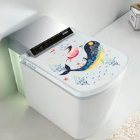 Wholesale sea world wall decorations for sale - Group buy 3D Wall Sticker Toilet Stickers Hole Sea world Bathroom Home Decoration Animal Vinyl Decals Art Sticker Wall Poster