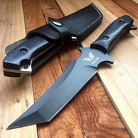 Wholesale Very Sturdy Katana Tactical Knife Wood Handle for Outdoor Camping Survival Hunting Rescue Fixed Blade Jungle Titanium Knife