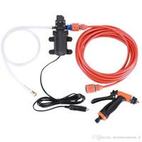 Wholesale 12v electric water pumps for sale - Group buy High Pressure Self priming Electric Car Wash Washer Water Pump V Car Washer Washing Machine Cigarette Lighter Retail