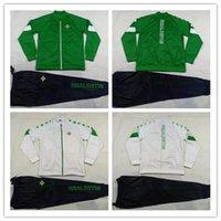 erkek ceket setleri toptan satış-YENİ 2020 Real Betis futbol Ceket setleri Camiseta de fútbol 20 21 CANALES Juanmi FEKIR JOAQUÍN Deplasman Erkekler futbol Ceket eşofman Boys