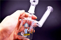 ingrosso divertente olio rig-Bong in vetro creativo divertente bong tubo d'acqua hitman Mini liquido olio di vetro Rig con 14mm comune