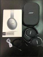 kulaklık konforu toptan satış-2019Selling Kablosuz Bluetooth Kulaklık micphone Kulaklık Destek AUX TF Kart Sessiz 35 Comfort 35 ile QC35 2.0 Stereo Kablosuz Kulaklık İçin