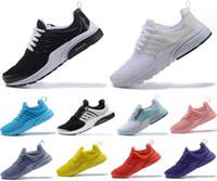 calientes calientes para hombre al por mayor-2019 PRESTO 5 BR QS Breathe negro blanco amarillo rojo para hombre mujer zapatillas Hot Men Shoe Walking diseñador zapatos casuales