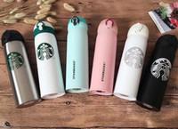 ingrosso tazze personalizzate-2019 gli ultimi uomini e donne 16OZ Starbucks tazze preferiti con tazze di caffè tazze in acciaio inox supportano logo personalizzato trasporto libero