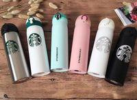 logo kahvesi toptan satış-kahve fincanı ile 2019 son 16 oz Starbucks erkekler ve kadınlar favori kupalar paslanmaz çelik bardak özel logo ücretsiz nakliye desteklemek
