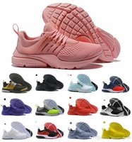Wholesale running shoes prestos for sale - Group buy 2019 Presto Running Shoes Men Women Ultra BR QS Yellow Pink Prestos Black Air White Oreo Outdoor Jogging Mens Trainers Sneakers Size