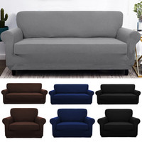 Wholesale furniture sofas couches for sale - Group buy Elastic Spandex Sofa Cover Tight Wrap All inclusive Couch Covers for Living Room Sectional Sofa Cover Love Seat Patio Furniture