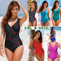 a393f49a4fb Wholesale plus size swimming suits high waist for sale - 2019 New One Piece  Swimsuit Women