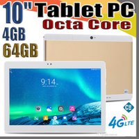 Wholesale 64gb tablet lte online - 10X MTK6737 inch quot Tablet PC Octa Core IPS Bluetooth GB GB G LTE Dual sim Phone Android GPS