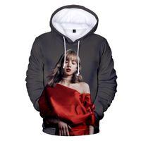 hoodies nouveau style coréen achat en gros de-2019 nouveau BlackPink 3D Hoodies Homme / Femme Casual Mode Harajuku Style Imprimer Korean Idol 3D NoirPink Sweat Kpop Hoodies