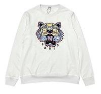 nakışlı gömlek bluz toptan satış-Yeni Marka Kaplan Kafa Şapka Gömlek Tasarım İşlemeli Erkekler Elbise ve Bluz Sonbahar ve Kış Şapka Gömlek Boş Spor 13-Kenzo