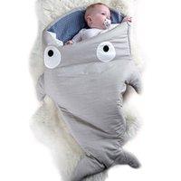 tierdesign babydecke großhandel-7 Farben Nette Weiche Winter Baumwolle Baby Tier Design Schlafsack Neugeborene Säuglingskinder Bettwäsche Swaddle Blanket Sleepers