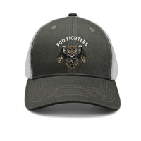 ordu moda erkek kap toptan satış-Foo Fighters Baykuş ordu-yeşil erkekler ve kadınlar için kamyon şoförü kap beyzbol serin donatılmış moda şapkalar