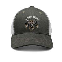 boné de homens de moda do exército venda por atacado-Foo Fighters Coruja do exército-verde para homens e mulheres boné de beisebol do camionista cool equipado moda chapéus