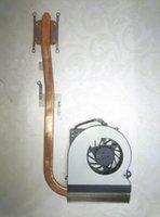 asus cpu ventilateurs de refroidissement achat en gros de-Original pour ordinateur portable asus radiateur ventilateur cpu refroidisseur K52 K52D X52D A52D radiateur CPU ventilateur + radiateur en laiton