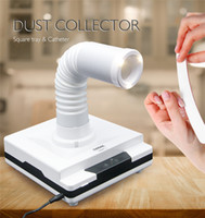 arte de unhas de vácuo venda por atacado-Tamax ND001 60 W máquina de coletor de sucção de vácuo Prego poeira telescópica Ajustável para Nail Salon Aspirador de pó 4500 Rpm equipamentos de arte do prego