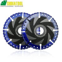 Wholesale saw blade for steel for sale - Group buy SHDIATOOL quot MM Vacuum Brazed one for all Diamond cutting Disc Multi Purpose Demolition saw blade for Steel granite concrete