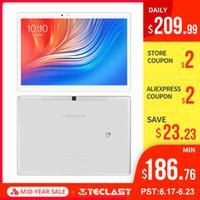 comprimidos core octa core venda por atacado-10.1 polegada 2560 * 1600 Teclast T20 Tablet PC 4G telefonema MT6797 Helio X27 Núcleo Deca Android 7.0 4 GB RAM 64 GB ROM 8100 mah 13MP