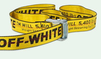 Wholesale girdled boys online - F Fashion simple style port belt generous all black buckle tide brand Europe and America canvas girdle men and women ribbon