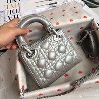 mode schultertasche für damen großhandel-Mode Liebe herz Welle Muster Satchel Designer Umhängetasche Kette Handtasche Luxus Crossbody Geldbörse Dame Tote taschen (17 * 15 * 7)