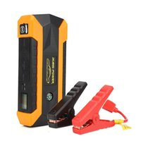 ingrosso caricabatteria avviamento batteria-16000mAh LED Car Jump Start Starter 4 USB Battery Charger Power Bank Booster 12V - spina US