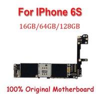 carte mère mb achat en gros de-Déverrouillé en usine pour la carte mère iphone 6S 6 S avec ID tactile / sans ID tactile, original déverrouillé pour plaque principale MB pour iphone 6S