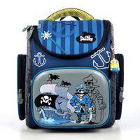 Wholesale beads school bags resale online - Delune New European Children Pirate School Backpack Bag Kids Cartoon Mochila Infantil Large Capacity Orthopedic Schoolbag