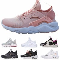Wholesale huarache free run for sale - Group buy 2019 New Huarache IV Ultra Running shoes Huraches trainers for men women Multicolor shoes Triple Huaraches sneakers