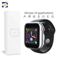 neueste goophon android großhandel-Neueste Z6 Smartwatch für Apple iPhone reloj inteligente Bluetooth 3.0-Uhren mit Kamera unterstützt SIM-TF Karte für Android Goophone
