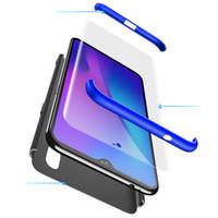 vivo rückseitige abdeckungen großhandel-Rückendeckel für Vivo Series 360 Grad Vollschutz Hard PC 3 in 1 Cover